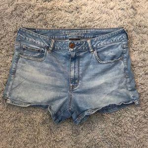 Lightly Worn American Eagle Denim Shorts